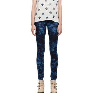 MOTHER The Looker Rebel in Silk skinny jeans EUC